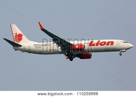 Lion Air Boeing 737-900Er Airplane