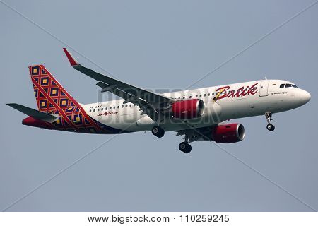 Batik Air Airbus A320 Airplane