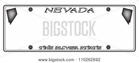 Nevada License Plate