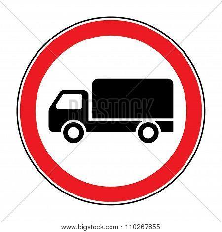 No Truck Sign