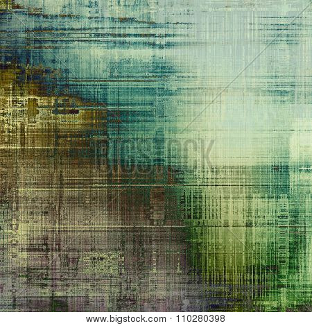 Art grunge vintage textured background. With different color patterns: brown; gray; blue; green