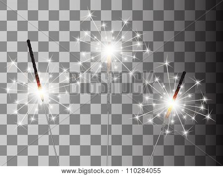 Christmas sparkler set