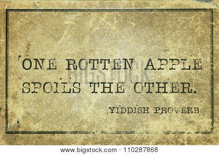 Rotten Apple Yp