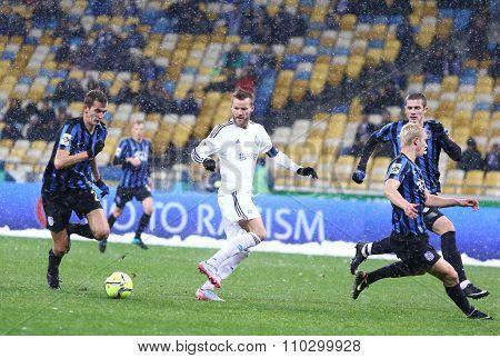 Ukrainian Premier League Football Game Fc Dynamo Kyiv Vs Fc Chornomorets Odesa
