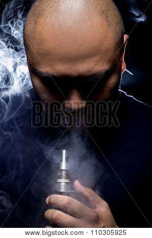 Ominous Looking Vape Smoker