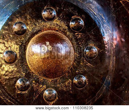 Gong In A Buddhist Temple