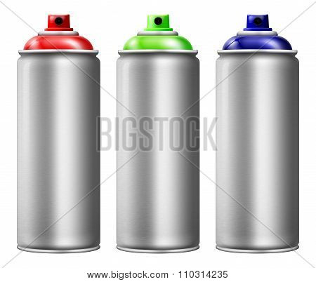 Spray Cans Set
