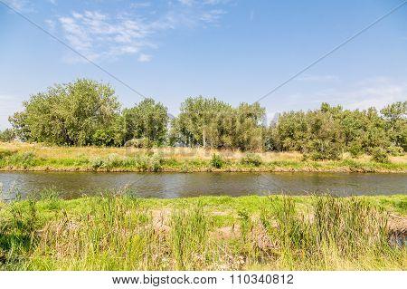 Platte River In Summer