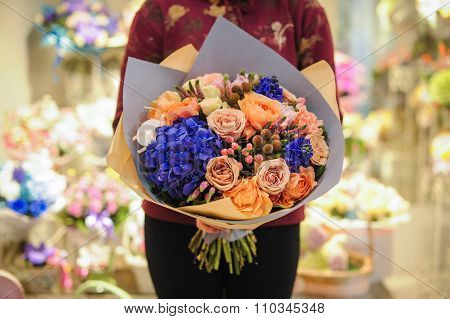 Bouquet Of Beautiful Summer Flowers