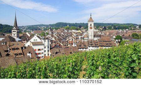Medieval Town Centre. Schaffhausen.