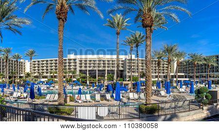 Pools at the JW Marriott Desert Springs