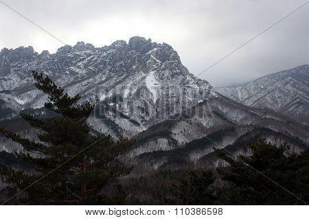 Seoraksan mountains.South Korea
