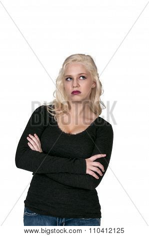 Disgusted Woman