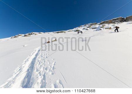 Mountaineering Towards The Mountain Top