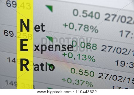 Net expense ratio