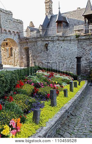 Castle Reichsburg. Cochem. Germany.