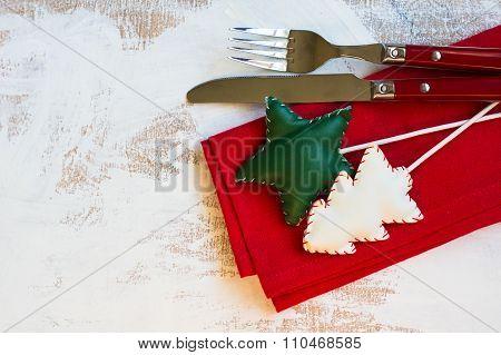 Christmas Time Table Setting