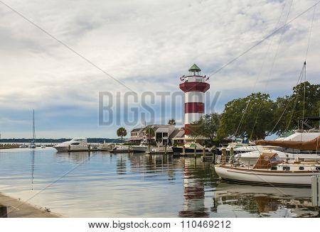 Harbor Town on the island of Hilton Head, South Carolina