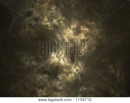 a abstract 3 d shape of clouds as background poster