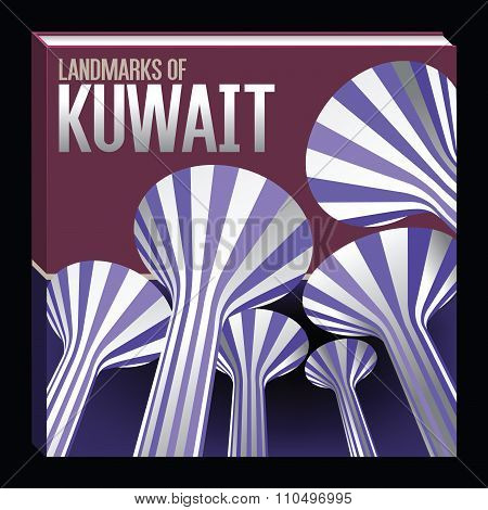 Landmarks Of Kuwait Fictive Square Book Concept