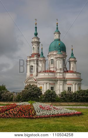 Church Of St. Ekaterina In Kingisepp, Russia