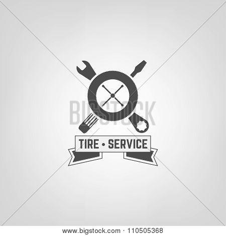 Tires Shop Logo007 A