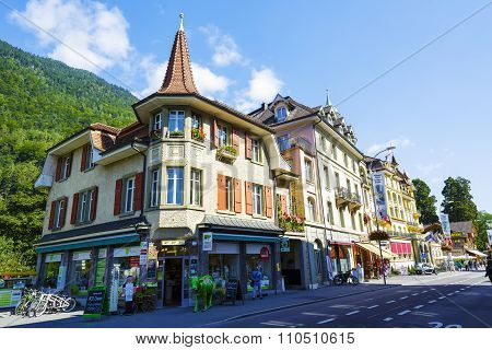 Interlaken, Picturesque Townhouses