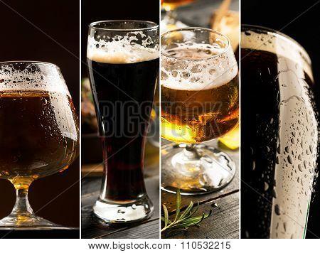Porter And Pilsner Beer