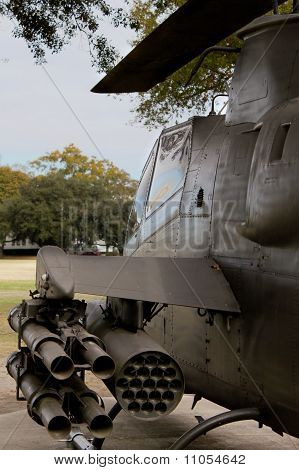 Helicopter Monument at The Citadel