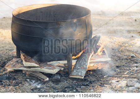 Kattle On Fire