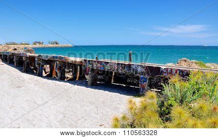 Breakwater: Fremantle, Western Australia