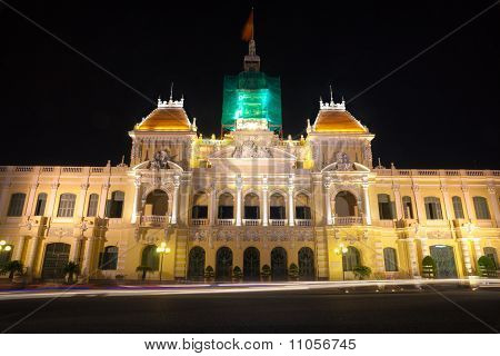 People's Committee Building In Ho Chi Minh City, Vietnam