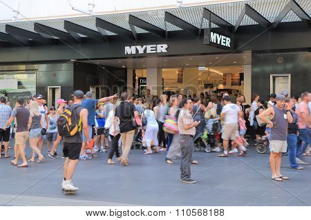 Christmas shopping in Melbourne