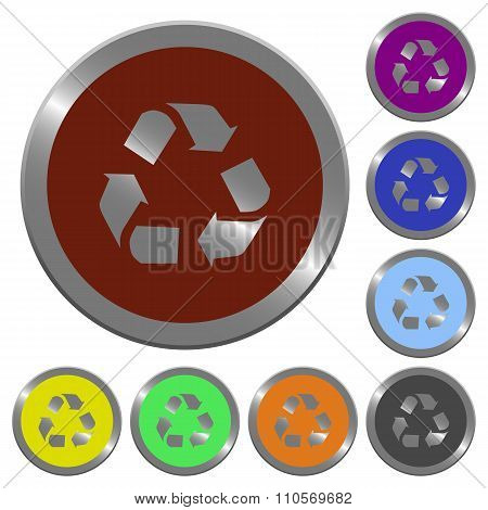 Color Recycling Buttons