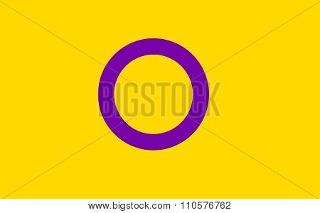 Intersex Pride Flag In Vector Format.