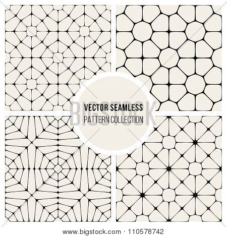 Vector Seamless Pavement Pattern Collection