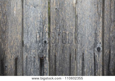 Background gray wooden planks
