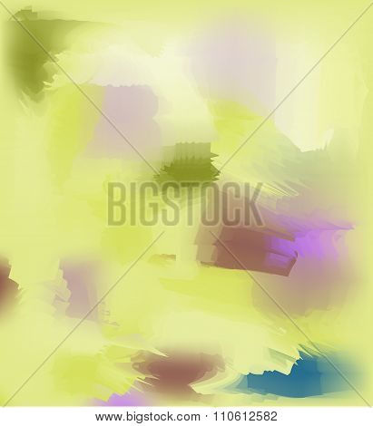 Abstract spotted yellow background