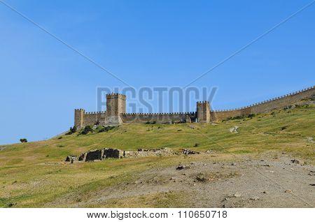 Crimea, Genoese fortress.