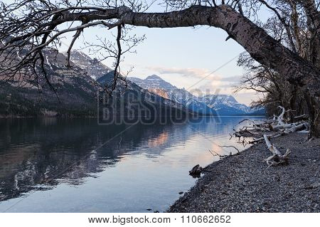 Waterton Lake Scenic View