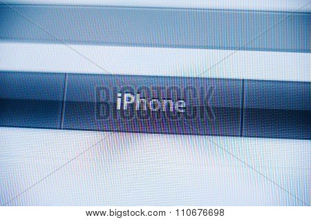 Iphone Button In The Non Flat Design Of Apple Computers Webist