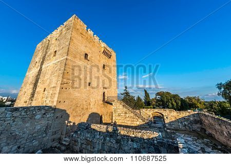 Kolossi Castle is a former Crusader stronghold on the south-west edge of Kolossi village. Limassol District. Cyprus
