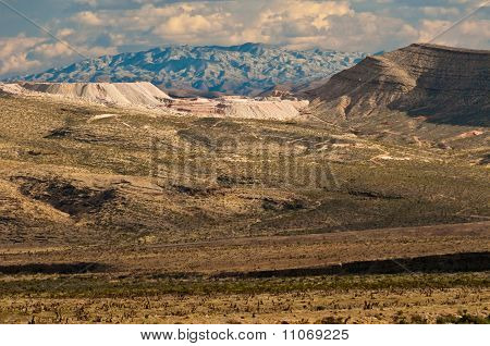 A Souhtern View From Red Rock Canyon
