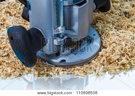 Variable Speed Plunge Router