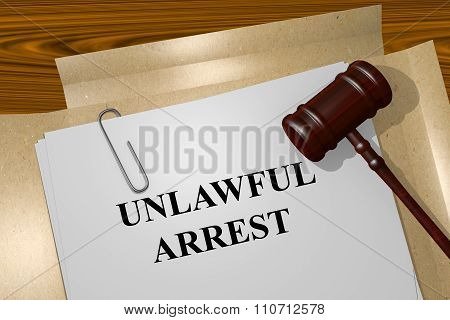 Unlawful Arrest Concept