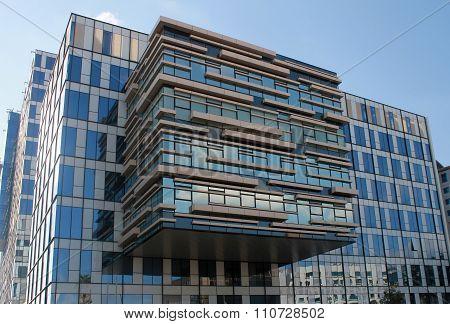 Office Modern Building In Herzliya, Israel.