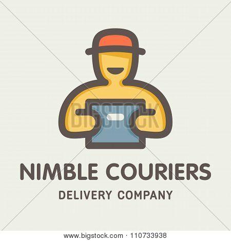 Nimble Couriers Logotype