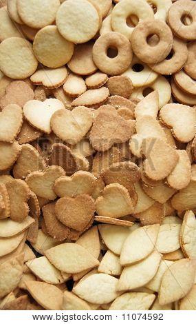 Baked xmas cookies