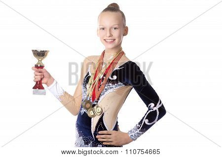 Winner Gymnast Girl