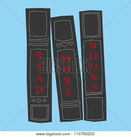 Read More Books Concept